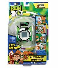 BEN 10 Deluxe GAME OMNITRIX with 4 Alien Games