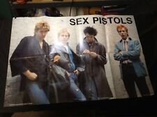 Rare Vintage 1986 Sex Pistols Poster 1185 Printed In England