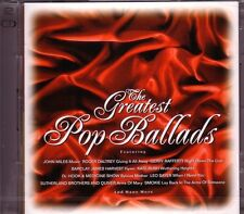 2 CD (NOUVEAU!) Greatest pop Ballads (John Miles: Music/Love Hurt when I need you