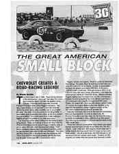 THE CHEVROLET 302 ENGINE  ~  NICE TWO-PAGE ARTICLE
