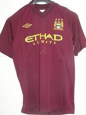 Alvaro Negredo Signed Match Worn Rekik Manchester City 2012/13 Pre-Season Shirt