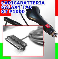 Caricabatteria cavo auto2,1A per SAMSUNG P7510 GALAXY TAB 10.1 P7310 8.9