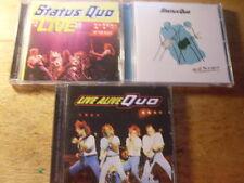 Status Quo [3 CD Alben REMASTER] LIVE + N.E.C. + Quid