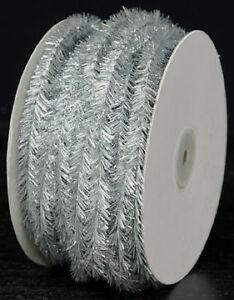 Silver tinsel garland 24 yards #GF5702SL