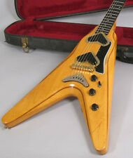 1980 Gibson V2 Flying V Guitar Rare MAPLE with Case