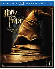 Harry Potter and the Sorcerer's Stone (2-Disc Special Edition) [Blu-ray] NEW