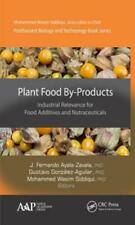 Plant Food By-Products: Industrial Relevance for Food Additives and: Used