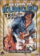 Return of Kung Fu Trailers of Fury DVD Severin comp 2017 Chuck Norris