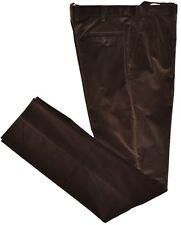 Brioni Mens Slim Corduroy Flat Front Pants Size 34 US / 50EU NEW Factory Sample