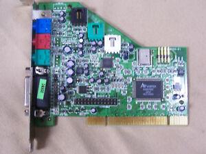 Turtle Beach Montego A3D 64 Voice PCI Sound Card TB400-3355-01 Dell P/N 00007005