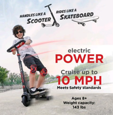 Wave Catcher Electric Scooter Skateboard for Kids, Lithium Battery,24V- 10 Mph.