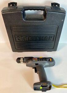 """Craftsman Professional Redi-Drill Driver 12v 3/8"""" Cordless ~ Bare Tool w/Case"""