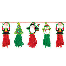 Christmas Holiday Tissue Garland