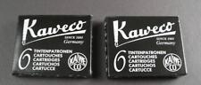 KAWECO Cartuchos 2 paquetes tinta Negro NUEVO #