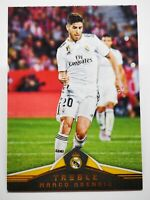 Panini 2018-19 soccer carte card Treble Real Madrid #92 Marco Asensio