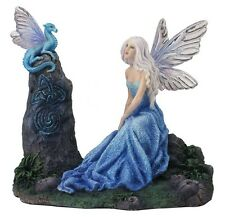 Luminescent by Rachel Anderson Fairy Dragon Sculpture Fantasy Statue Figure