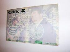 used ticket CELTIC Glasgow - FC ZURICH 20.10.1998