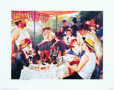 Luncheon of the Boating Party - Renoir - Fine Art Giclee Print (Various Sizes)