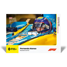 Topps Now Formula 1 - Card 025 - Fernando Alonso - Renault DP World