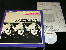 Cathy Berberian magnifi Cathy-the many voices of.../German LP wergo qui 60054