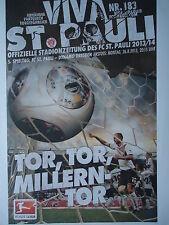 Programm 2013/14 FC St. Pauli - Dynamo Dresden