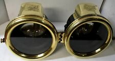 Pair 1913-Early 1915 Ford Model T Carbide Headlamps John Brown Model 16