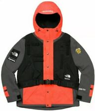 Ss20 Supreme X TNF RTG Jacket Only With No Vest Bright Red Size Large