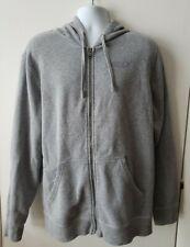 Oakley Men's XL Frog Hoodie Sweatshirt Full Zip Gray