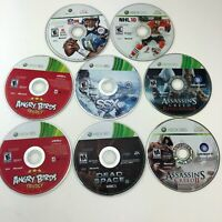 Xbox 360 Game Lot 8 Working Tested Games