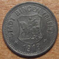 Germany Notgeld (Token) Bingen 10 pfennig 1918