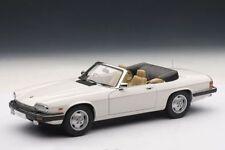 1:18 AutoArt JAGUAR XJS XJ-S V12 cabriolet blanc - rare