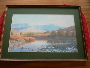Large Print Wim Kosch Amphitheatre Drakensburg Mountains Kwazulu Natal S Africa