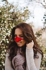 Nose Warmer. Red Wool. Secret Santa, Design Registered, Genuine Original