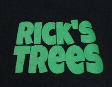 Live CHRISTMAS TREE Lot EMPLOYEE RICK Rick's Trees T Shirt FREE Shipping Medium