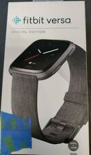 Fitbit Versa Tracker Special Edition Charcoal Large & Small Band FB504