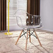 Designer scandinavian transparent chair Eiffel Eames Chair modern armchairs