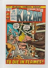 Astonishing Tales Ka-Zar #10 F 1972 Marvel Comic Marvel Comic Gorilla Smith