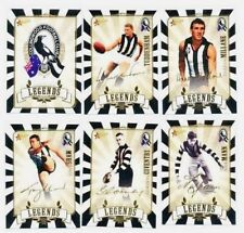 2011 SELECT COLLINGWOOD VERY LIMITED LEGENDS FOOTBALL CARD SET