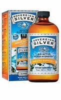 Sovereign Silver Bio-Active Silver Hydrosol for Immune Support - 10 ppm, 32oz