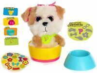 Pups in Surprise Cups Terrier Puppy Dog Soft Toy In Tea Cup