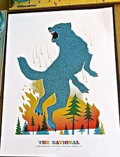 The National Mini-Concert Poster Reprint No 3  Wolf for 2014 Brooklyn NY 14x10