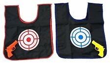 2 Player Childrens Toy Squirt Water Gun and Color Changing Target Vest Game