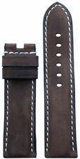 24x22 RIOS1931 for Panatime Dark Olive Vintage Watch Strap for Panerai Deploy