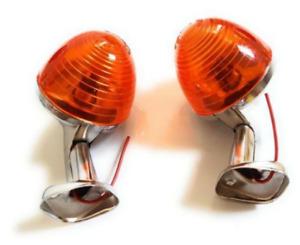 Pair of turn signal indicators Rear Left Right for cub C50 C65 C70 C90 C100