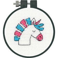 Cross Stitch 'Learn a Craft' Kit ~ Unicorn Fun for Kids & Beginners #72-75553