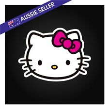 Hello Kitty Sticker Decal to suit Car Boat Truck Wall Glass Toolbox Anime Japan