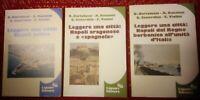 Lotto n.3 Libri Leggere una citta Liguori Editore 1986-1987 A.V. illustrazioni