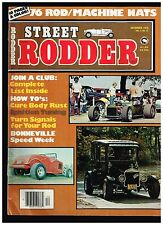 STREET RODDER DECEMBER 1976 CONTENTS IN SECOND PHOTO HOT ROD TECH TIPS HOW TO'S