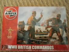 Airfix A01732 - WWII British Commandos Figures. 1 72 Plastic Figures Model Kit