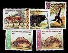 LAOS Sc 192-3,C59-61 NH set of 1969 - Animals